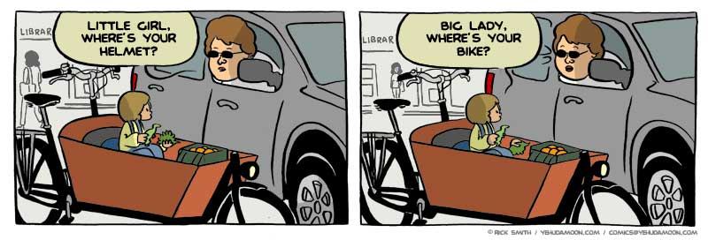 bike helmet cartoon